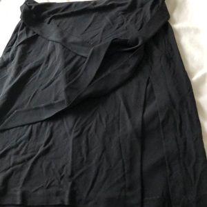 Express black stretchy skirt